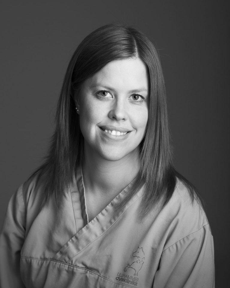 Anne-Solfrid, Klinikkassistent ved Lillehammer Dyreklinikk