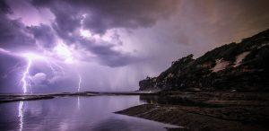 tordenvær, storm, lyn